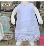 Dantelli Beyaz Elbise FMY8708