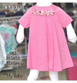 Gül Pileli Elbise FMY8713