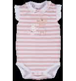 Pink Cat Çizgili Body FMY9516