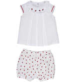 Lady Dokuma Pileli Şortlu Takım FMY9600